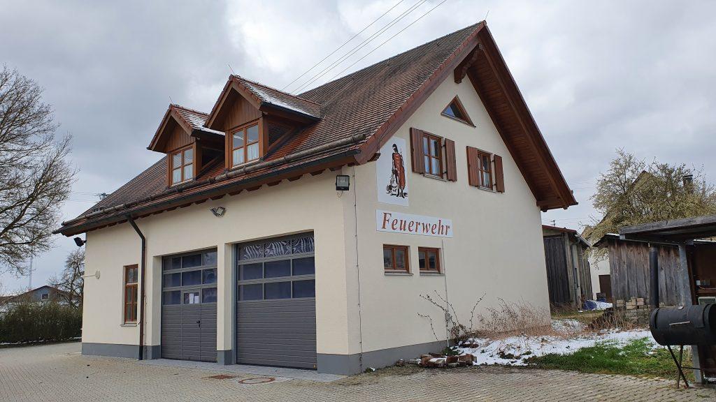 Das Feuerwehrhaus in Temmenhausen.