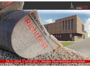 Richtfest neues Feuerwehrhaus Dornstadt @ Neubau Feuerwehrhaus Dornstadt