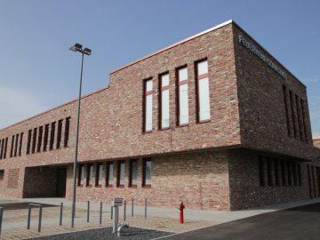 Das neue Feuerwehrhaus im St. Florian Weg.